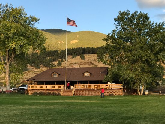 Wolf, WY: Sunrise at Eaton's Ranch