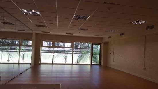 The dance studio at our Sports Centre, Lampeter
