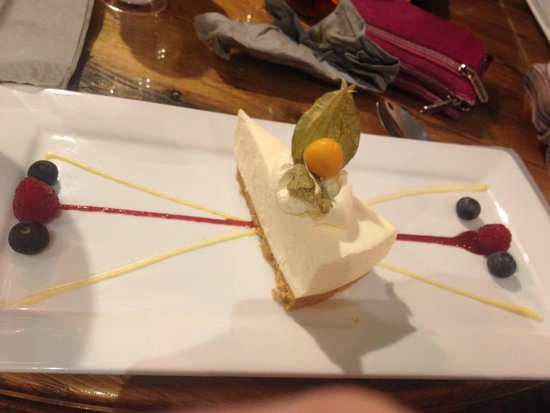 Dungiven, UK: lemon/lime cheesecke - lovely and light