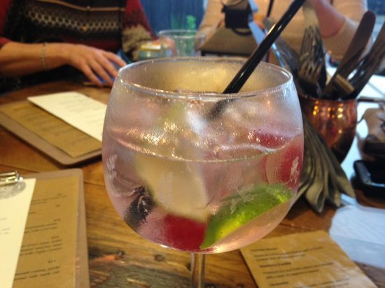 Dungiven, UK: gin & tonic - well it would have been rude not to have one