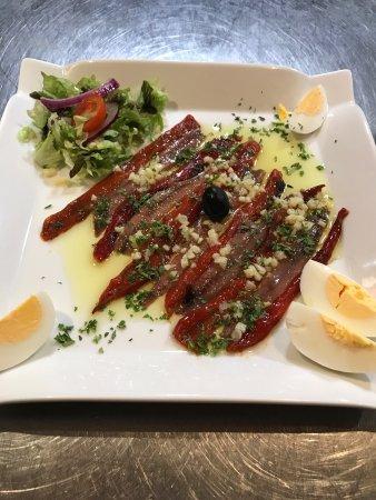 Can Jordi : Filet d anchois et poivron