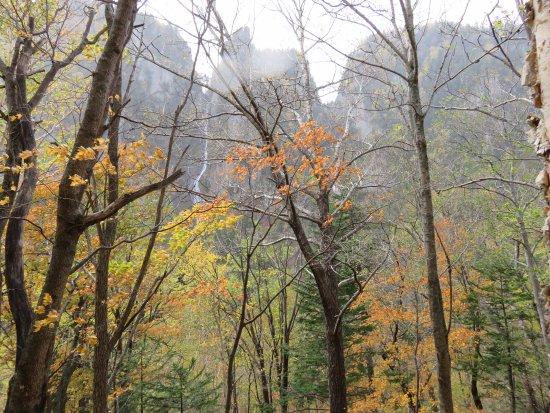 層雲峡, 紅葉と滝