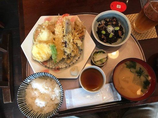 Ginza Waran: 天ぷら定食