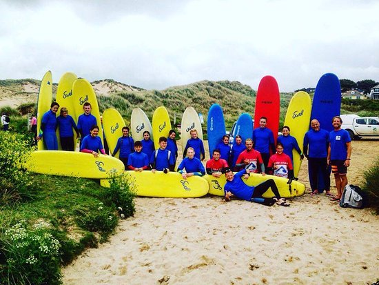 Newquay, UK: Cornwall Surf Academy