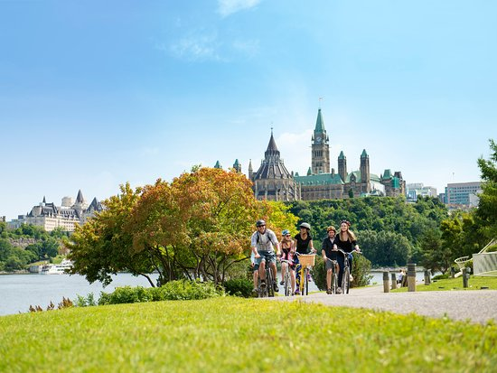 View of Parliament from Canadian Museum of History - Ottawa Tourism