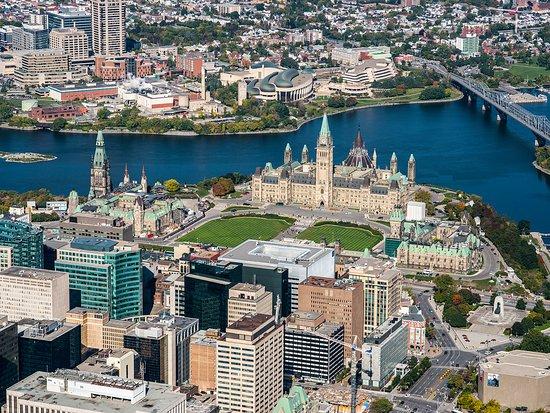Ottawa Aerial View - Ottawa Tourism
