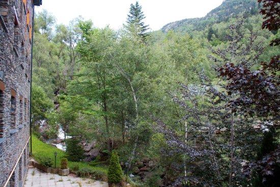 El Serrat, Andorra: vue depuis la chambre