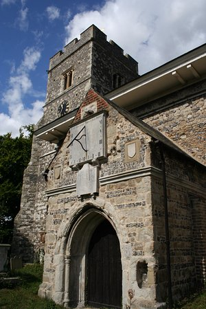 Gravesend, UK: St Peter and St Paul Church, Milton