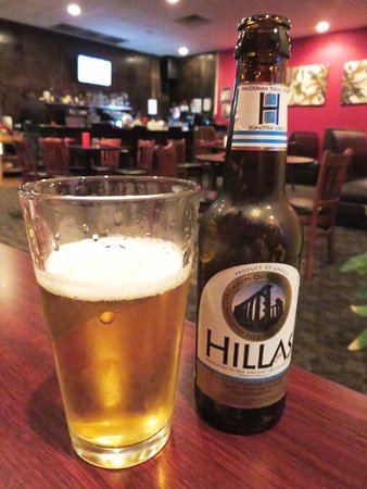 Hillas Greek Beer at Greek To Me - Denver (05/Oct/17).