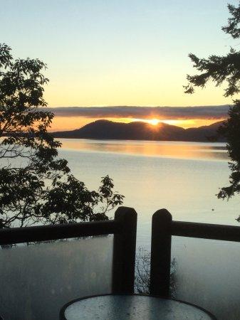 Νήσος Πέντερ, Καναδάς: Sunrise from the deck