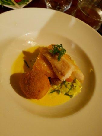 The Wee Restaurant: Haddock and Crispy Duck Egg