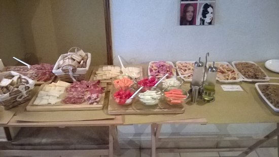 Camaiore, Italie : buffet per feste private