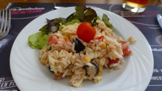 Jussac, Francia: Salade niçoise