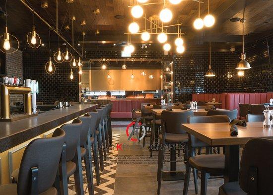 Woodbridge, แคนาดา: Bar area