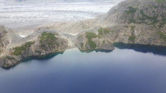 Nikiski, AK: Aussicht vom Flugzeug