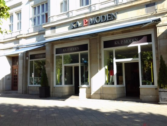 Magdeburg, Germania: Eingangsbereich von KA. P. MODEN