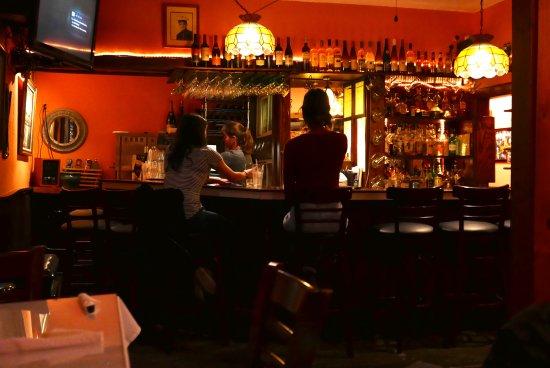 Montgomery Center, Вермонт: The bar at Bernies