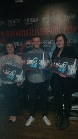 Breakout Escape Room Liverpool Best