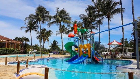 Amarelos, ES: Playground aquático
