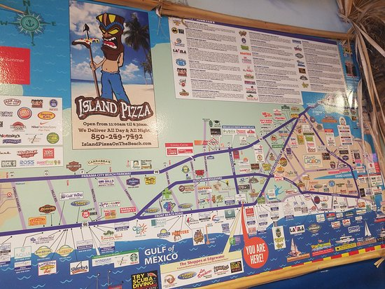 Island Pizza Panama City Beach Florida