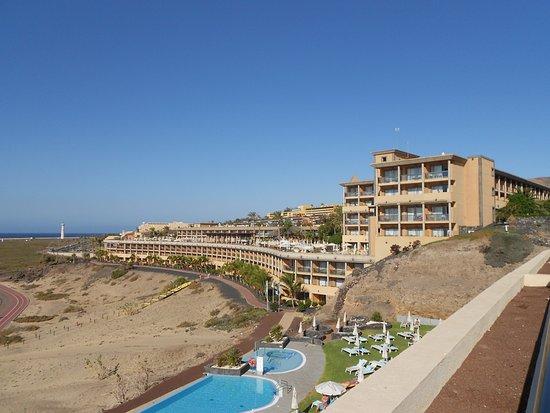Iberostar Fuerteventura Palace: Blick vom Nachbarhotel