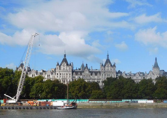 The Royal Horseguards: View from across the opposite side of river