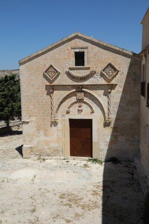 Complesso Santa Maria della Croce: The church