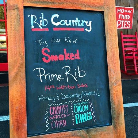 Cleveland, GA: Smoked Prime Rib Special