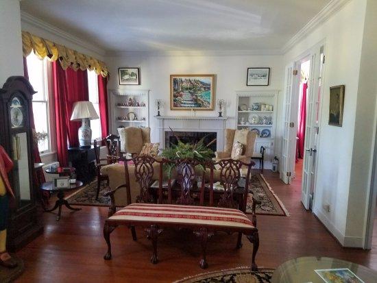Orange, فيرجينيا: Sitting room