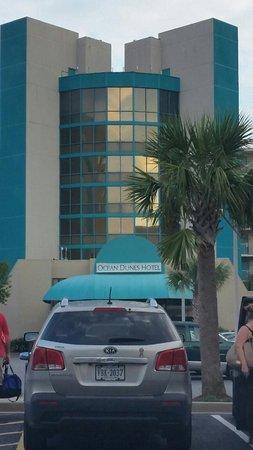 Ocean Dunes Resort & Villas : Entrance