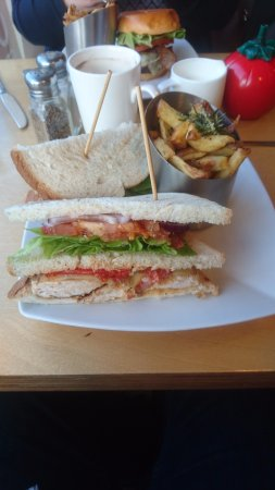 County Dublin, Ireland: Club Sandwich