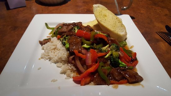 Treasure Trove Diner: A really delicious ginger beef stir-fry!