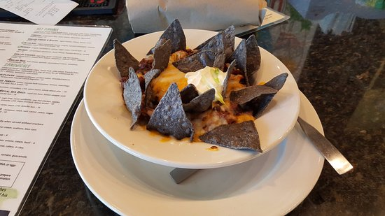 Busboys and Poets: Would have been a great dish had they brought it out as soon as it was prepared