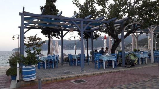 Kalamitsi, Greece: Location