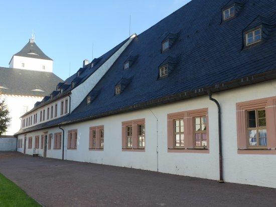 Augustusburg, เยอรมนี: Gebäudetrakt der JHB