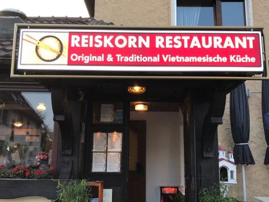 Metzingen, Alemania: Reiskorn Vietnamesisches Restaurant