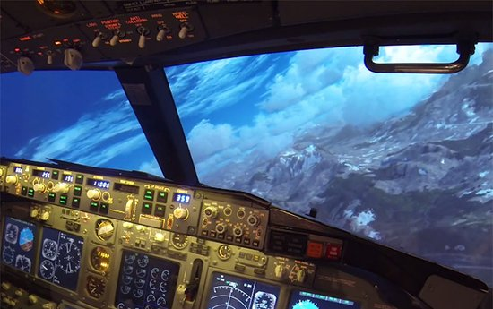 Flight Simulator Cyprus