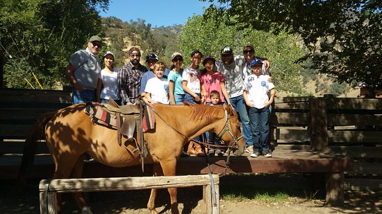 Caliente, CA: Lining Up To Ride The Horses
