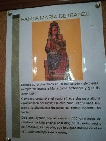 Abárzuza, España: Monasterio_Iranzu