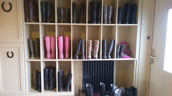 Glaslough, Irlandia: Boot Room!
