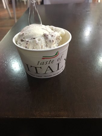 taste of italy : gelato in my cup