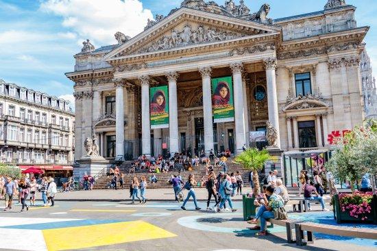 La Bourse de Bruxelles : La Bourse