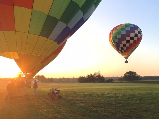 Above the Clouds: watching balloons take off!