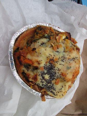 The Salcombe Delicatessen: Sweet potato and feta cheese tartlet