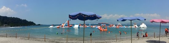 Inflatable Island: Beach Area