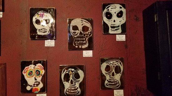 Bella Bella: Sugar skull paintings for sale