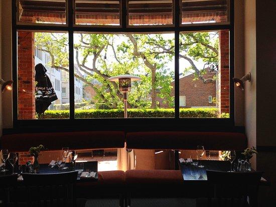 Killara, Australia: View from the dining room