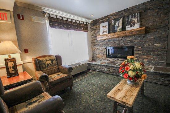ClubHouse Inn West Yellowstone: Lobby
