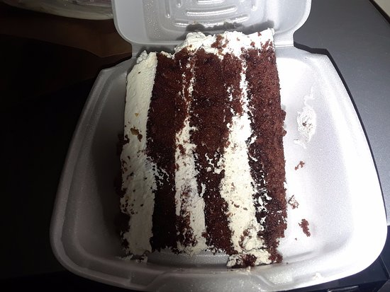 Hope, AR: Hershey cake with whip cream icing.