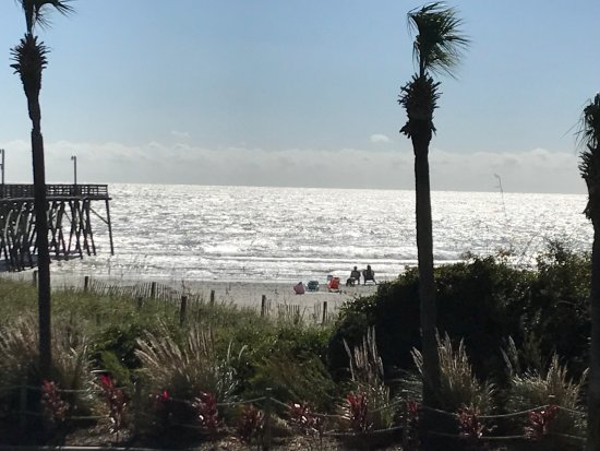 Surfside Beach Oceanfront Hotel: Ocean View